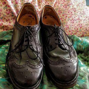 Vintage Doc Martin Brogue Wingtip Oxfords Size 10